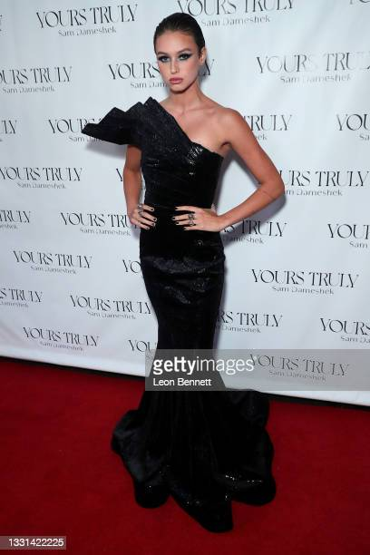 """Tatiana Ringsby attends Celebrity Photographer Sam Dameshek's Black Tie Book Release Event For """"Yours Truly"""" at Fellow on July 29, 2021 in Los..."""