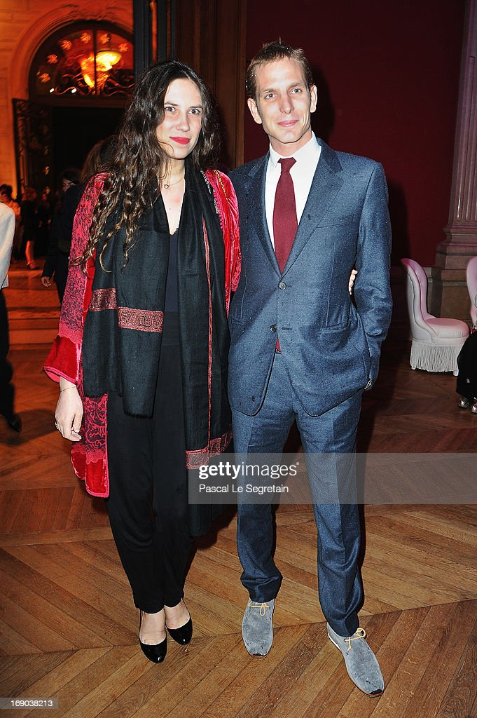 Tatiana Santo Domingo and Andrea Casiraghi attend the Dior Cruise Collection 2014 cocktail on May 18, 2013 in Monaco, Monaco.