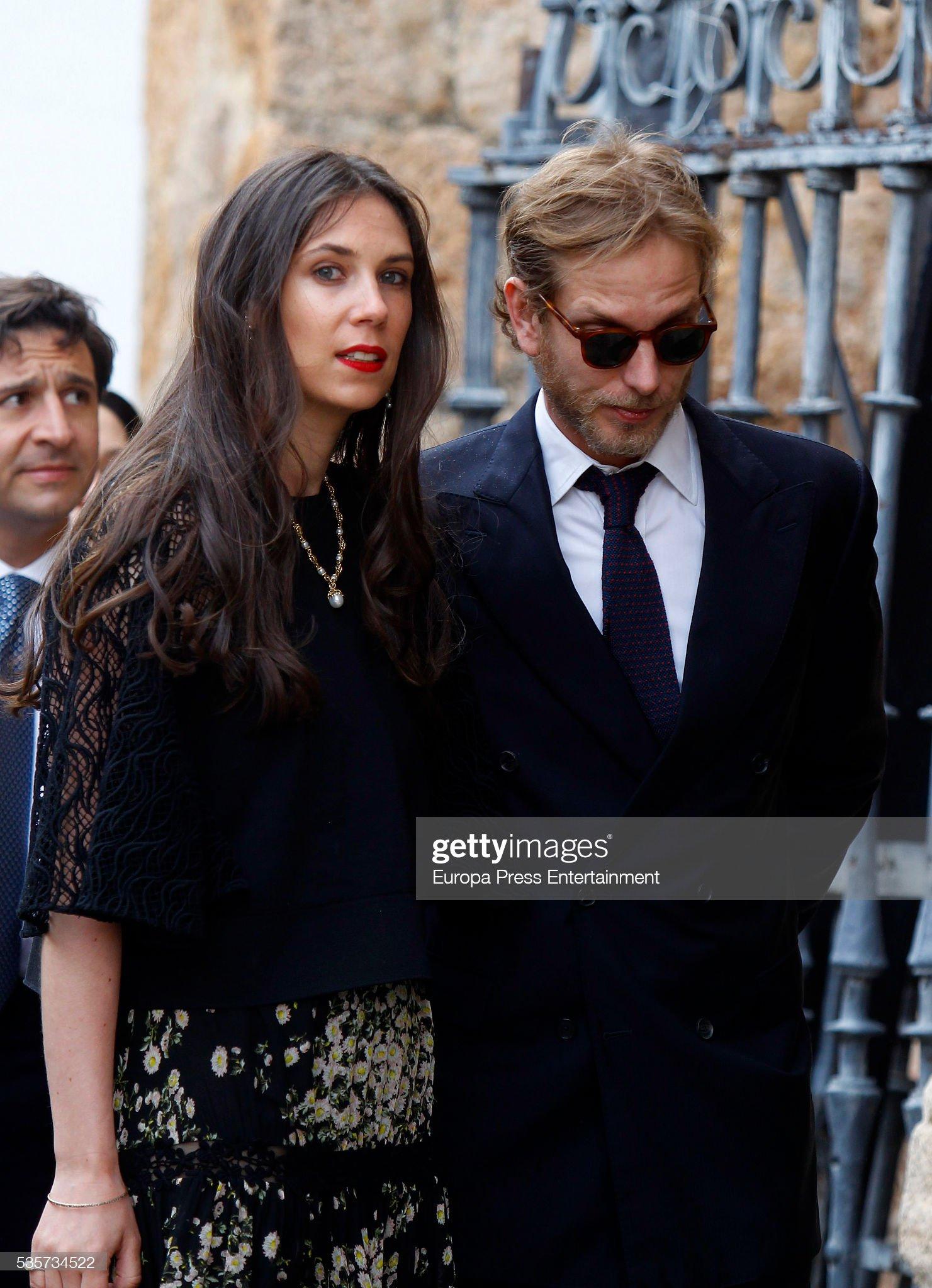 Lady Charlotte Wellesley and Alejandro Santo Domingo Wedding in Granada : News Photo