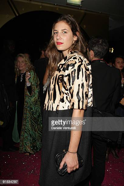 Tatiana Santo Domingo attends Fendi 'O' party For Pixie Lott at the VIP ROOM Theater on October 6 2009 in Paris France