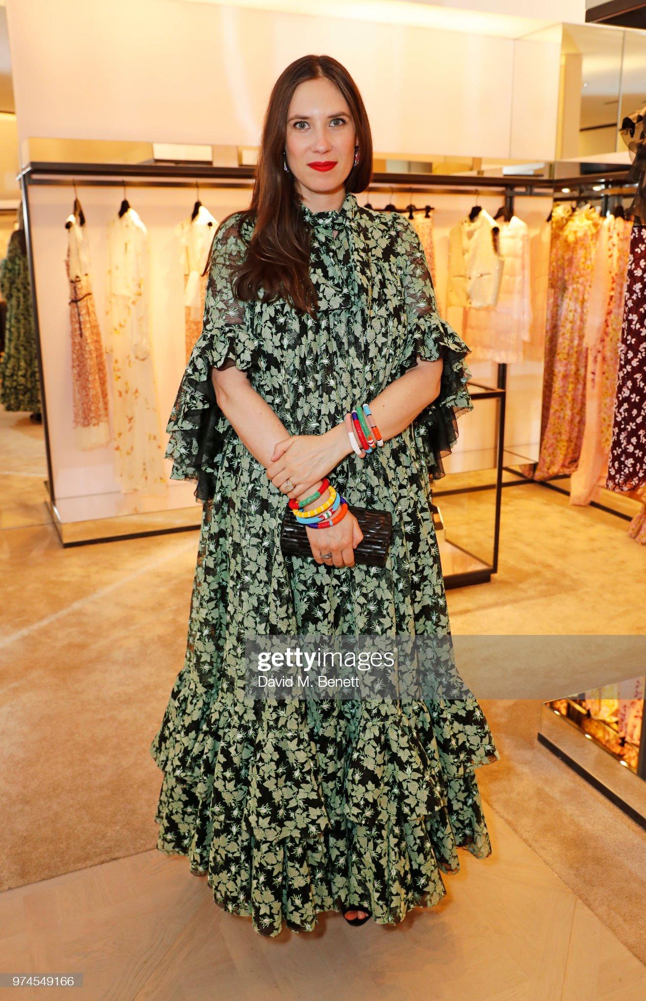 Giambattista Valli London Store Opening : News Photo