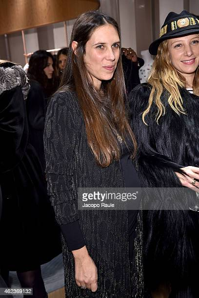 Tatiana Santo Domingo attends the Missoni opening store at 219 Rue Saint Honore during the Paris Fashion Week Haute Couture Spring/Summer 2015 on...