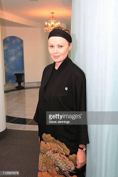 Tatiana Sorokko during Bebe Event at Burke Williams Spa at Burke Williams Spa in San Frnacisco, California, United States.