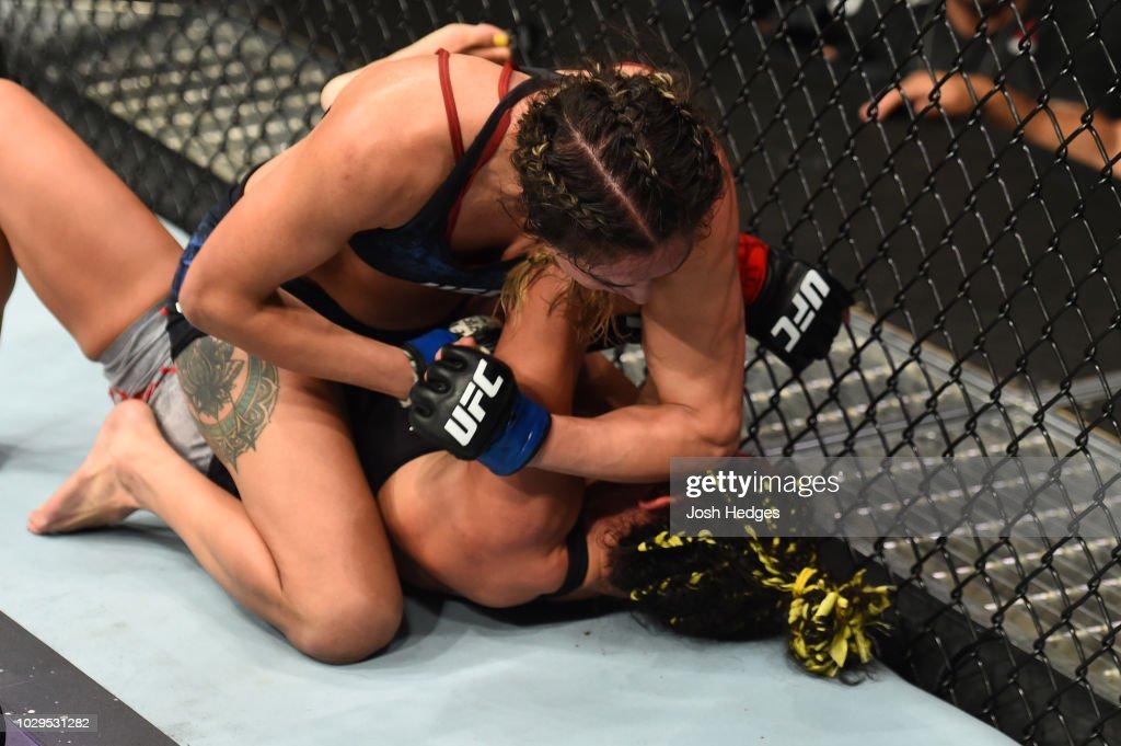 UFC 228: Esparza v Suarez : News Photo