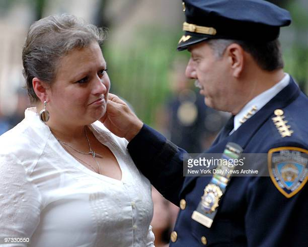 Tatiana Timoshenko is met by Chief of Dept Joseph Esposito and she nearly breaks down remembering her son Det Russel Timoshenko killed in line of...