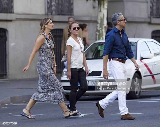 Tatiana von Breisky Sonsoles Suarez and Javier Suarez are seen on July 16 2014 in Madrid Spain