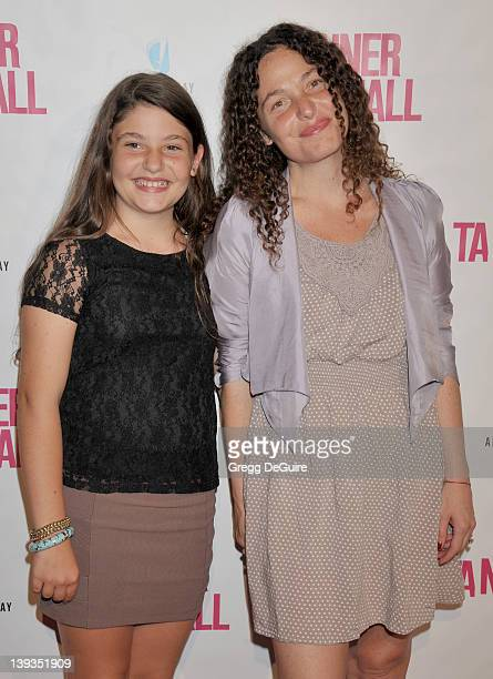 Tatiana von Furstenberg and daughter Antonia Steinberg arrive at the Los Angeles Premiere of Tanner Hall at The Vista Theater on September 6 2011 in...