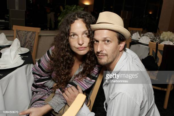 Tatiana von Furstenberg and Josh Charles at Donovan Leitch's 40th Birthday Party hosted by Hpnotiq held at The Muholland Tennis Club on August 16...