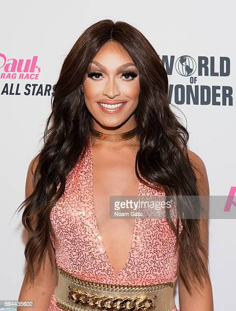 Tatianna attends the RuPaul's Drag Race All Stars season two premiere at Crosby Street Hotel on August 23 2016 in New York City