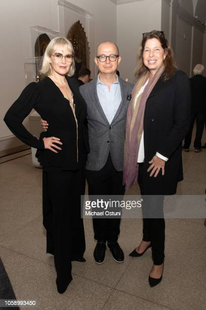 Tatijana Shoan Antonio Seward and Anne Pasternak attend the AS IF Magazine Speaker Series With Audemars Piguet Brooklyn Museum on November 7 2018 in...