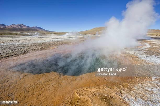 Tatio Geysers, steam sources, San Pedro de Atacama, Antofagasta Region, Chile