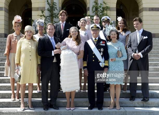 Tatjana d'Abo, Eva O'Neill, Alice Bamford, husband of Princess Madeleine Christopher O'Neill, count Ernst von Abensperg und Traun, Princess Leonore,...