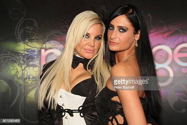 Tatjana Gsell PenthouseGirl Prestige PenthouseParty NachtClub Private Mansion Kln NordrheinWestfalen Deutschland Europa Feier feiern umarmen Busen...