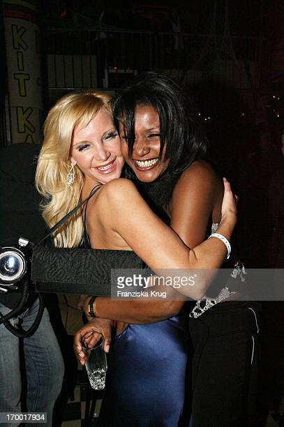 Tatjana Gsell With A friend Irina At the aftershow party in the Kit Kat Club after the premiere of Basic Instinct 2 In Berlin On 220306