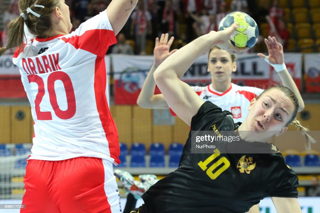 Poland v Montenegro - Handball Women's European Championship Qualification