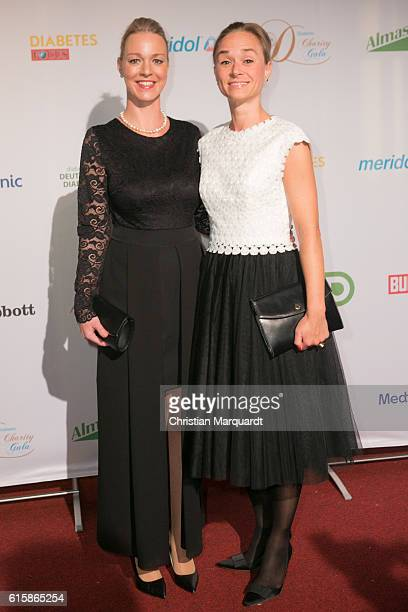 Tatjana Lommel and Annett Fleischer attend the 6th Diabetes Charity Gala at TIPI am Kanzleramt on October 20 2016 in Berlin Germany