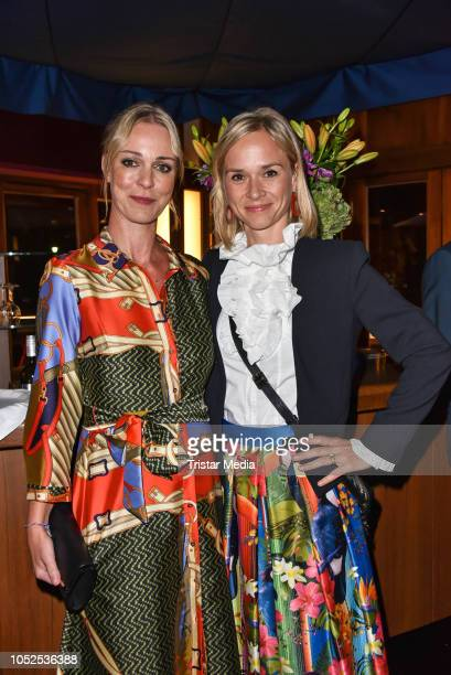Tatjana Lommel and Annett Fleischer attend the 8th Diabetes Charity Gala at Tipi am Kanzleramt on October 18 2018 in Berlin Germany