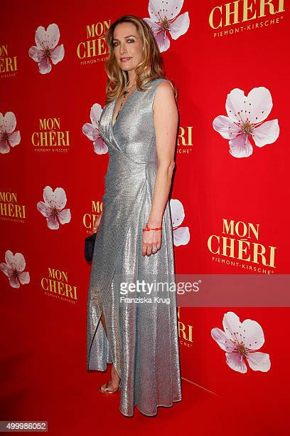 Tatjana Patitz attends the Mon Cheri Barbara Tag 2015 at Postpalast on December 4 2015 in Munich Germany