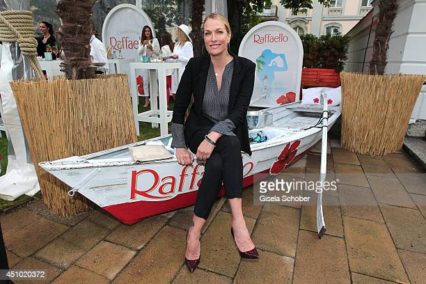 Tatjana Patitz attends the Raffaello Summer Day 2014 at Kronprinzenpalais on June 21 2014 in Berlin Germany