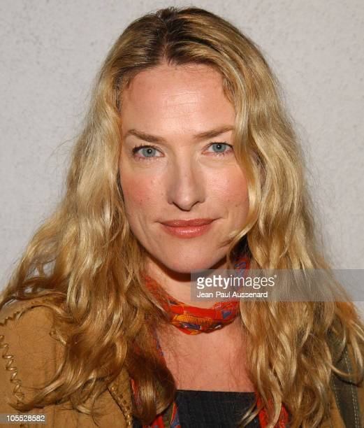 Tatjana Patitz during Bruce Weber's 'Whirligig' Show Opening at Fahey / Klein Gallery in Los Angeles California United States