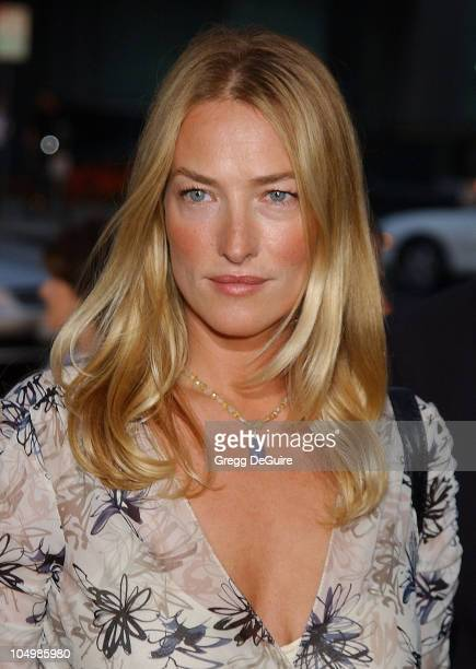 Tatjana Patitz during 'One Hour Photo' Premiere at Academy Theatre in Beverly Hills California United States
