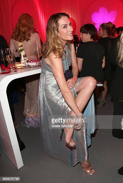 Tatjana Patitz during the Mon Cheri Barbara Tag 2015 at Postpalast on December 4 2015 in Munich Germany