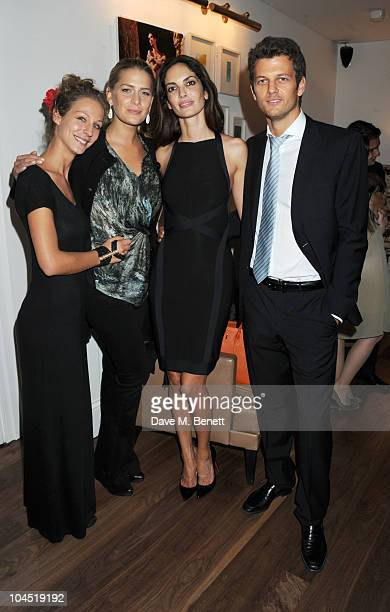 Tatjana Pesko Princess Nikolaos of Greece and Denmark Eugenia Silva and Sasha Pesko attend the launch of Tatjana Anika Swimwear at Morton's on...