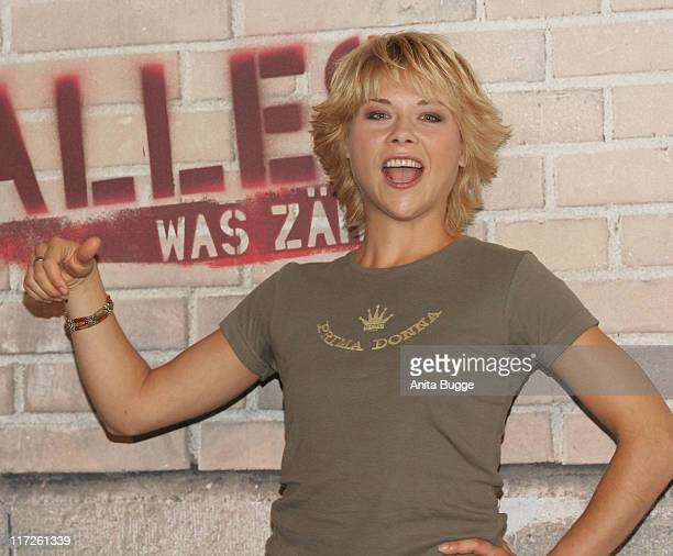 Tatjana Szewczenko during RTL Introduces The Cast of New Prime Time Soap Alles was Zählt - August 18, 2006 in Berlin, Berlin, Germany.
