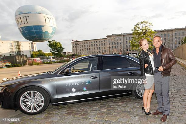 Tatjana Thinius and Florian Fitz attend made inde Award 2015 on May 19 2015 in Berlin Germany
