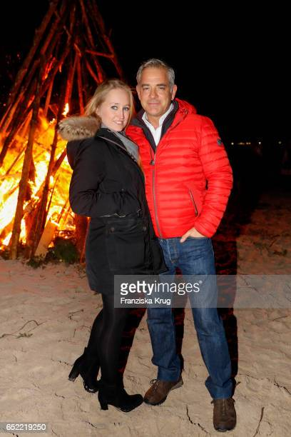 Tatjana Thinius and Florian Fitz attend the 'Baltic Lights' charity event on March 11 2017 in Heringsdorf Germany Every year German actor Till...