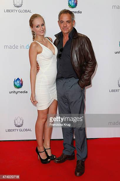 Tatjana Thinius and Florian Fitz attend the made inde Award 2015 on May 19 2015 in Berlin Germany