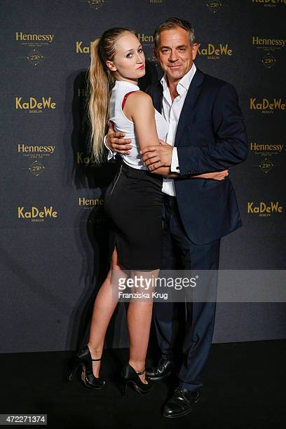 Tatjana Thinius and Florian Fitz during the Hennessy 250th anniversary celebrations on May 5 2015 in Berlin Germany