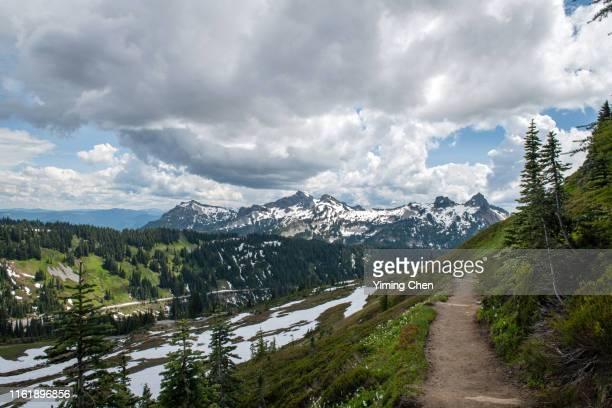 tatoosh range - pinnacle peak bildbanksfoton och bilder