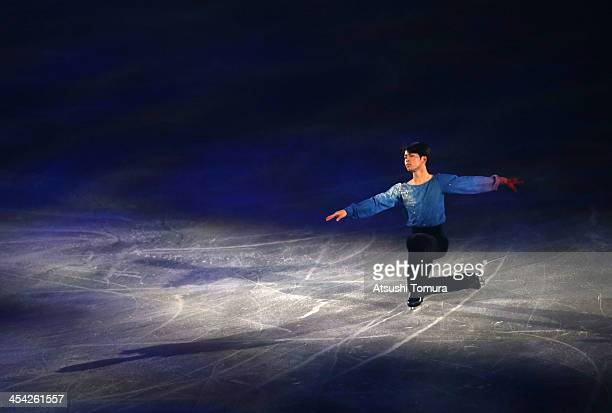 Tatsuki Machida of Japan performs his routine in the Gala during day four of the ISU Grand Prix of Figure Skating Final 2013/2014 at Marine Messe...
