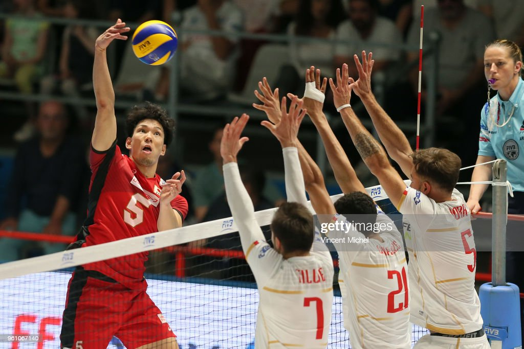 France v Japan - Volleyball Men's Nations League