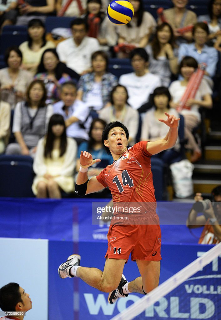 Japan v Finland - FIVB World League Pool C : ニュース写真