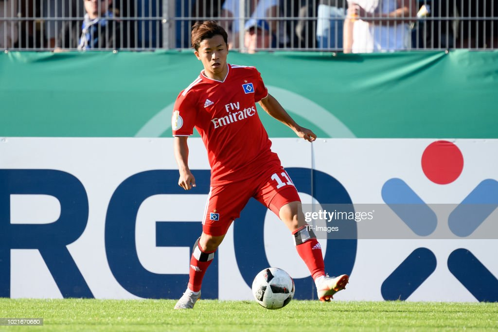 TuS Erndtebrueck v Hamburger SV - DFB Cup : Nachrichtenfoto