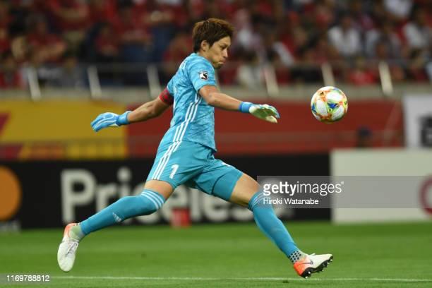 Tatsuya Morita of Matsumoto Yamaga in action during the J.League J1 match between Urawa Red Diamonds and Matsumoto Yamaga at Saitama Stadium on...