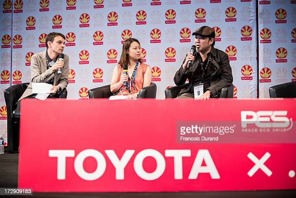 Tatsuyuki Tanaka attends the 'TOYOTA x STUDIO4AC meets ANA PES' world premiere screening during the Japan Expo at Parisnord Villepinte Exhibition...