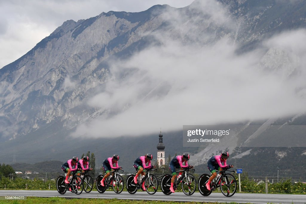 91st UCI Road World Championships 2018 - UCI Team Time Trial Women