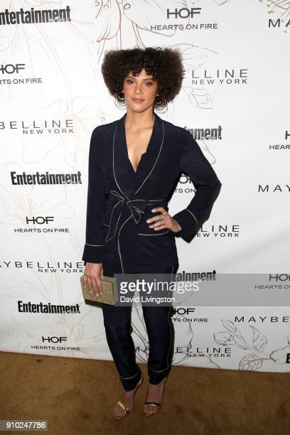 Tattiawna Jones attends Entertainment Weekly's Screen Actors Guild Award Nominees Celebration sponsored by Maybelline New York at Chateau Marmont on...