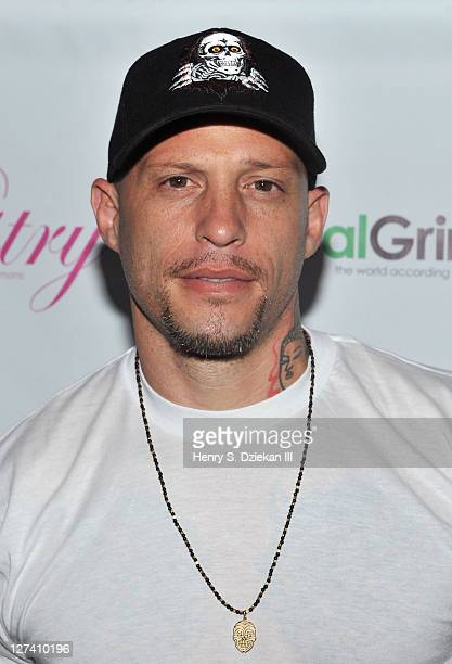 Tattoo artist Ami James attends the unveiling of Angela Simmons' PETA campaign at the Paramount Hotel on September 27 2011 in New York City