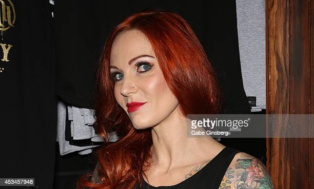 Tattoo Artist And Television Personality Lea Vendetta Arrives At Hart Huntington Tattoo Inside The Hard Rock