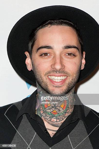 Tattoo artist Romeo Lacoste arrives at Save A Child's Heart Celebration Honorary Ceremony at Sony Studios on November 16 2014 in Los Angeles...