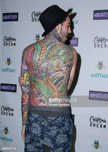 Tattoo artist Romeo Lacoste attends Romeo Lacoste's The California Dream grand opening at The California Dream on March 5 2015 in North Hollywood...