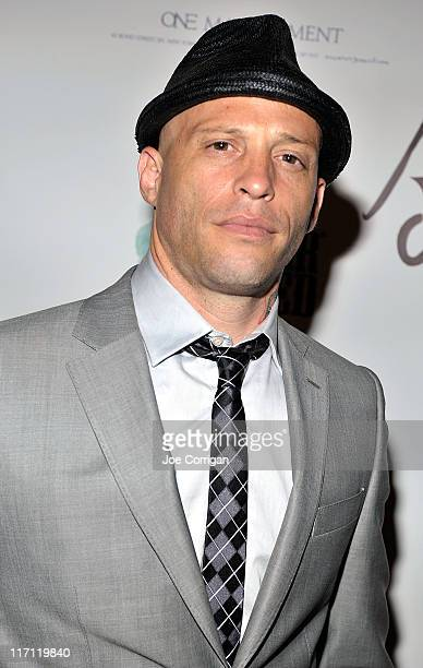 Tattoo artist/ TV personality Ami James attend the grand opening Wooster Street Social Club on June 22 2011 in New York City