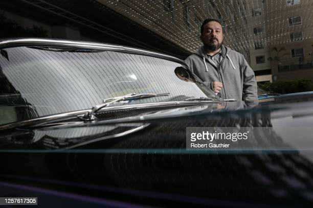 Tattoo artists and executive producer of 'Lowriders', Mister Cartoon is photographed for Los Angeles Times on May 9, 2017 in Hollywood, California....