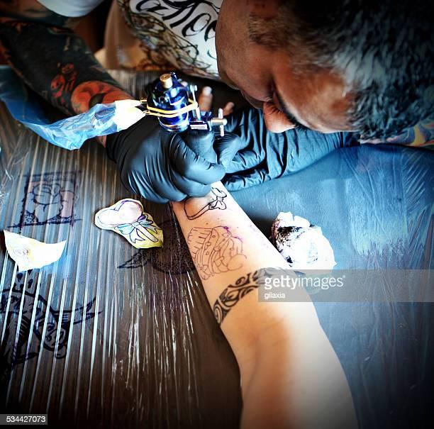 Tattoo drawing.