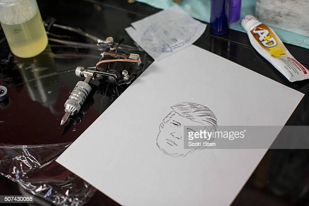 New Hampshire Tattoo Shop Offers Free Donald Trump Tattoos