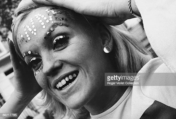 Tattoo in glitters Annie Nightingale the first british woman DJ France 19651968